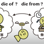 die of と die from の違い