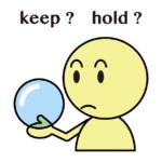keep と hold の違い